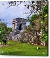 Tulum Watchtower Acrylic Print