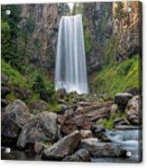 Tumalo Falls Closeup Acrylic Print