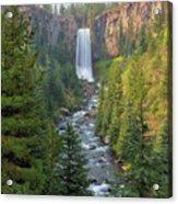 Tumalo Falls In Bend Oregon Acrylic Print