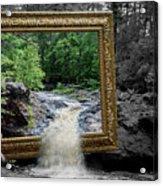 Tumbling Water Acrylic Print