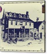 Tun Tavern - Birthplace Of The Marine Corps Acrylic Print