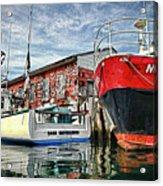 Tuna Fishing In Gloucester Acrylic Print