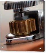 Tuning Machine Acrylic Print