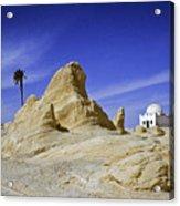 Tunisian Desertscape Acrylic Print
