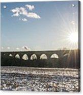 Tunkhannock Viaduct Acrylic Print