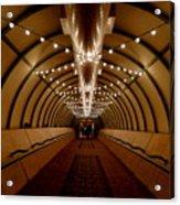 Tunnel Abstract Acrylic Print