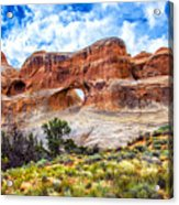 Tunnel Arch Trail View Acrylic Print