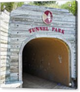 Tunnel Park, Holland Mi Acrylic Print