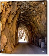 Tunnel Route 4nm Acrylic Print