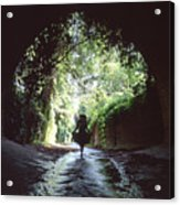 Tunnel Walk Acrylic Print