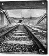 Tunnels And Tracks Acrylic Print