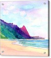 Tunnels Beach 4 Acrylic Print