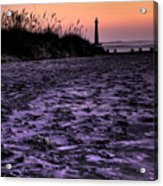 Turbulant Sands Acrylic Print