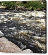 Turbulent Dalles Rapids Acrylic Print