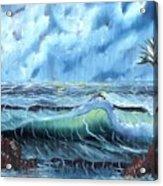 Turbulent Sea Acrylic Print