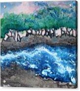 Turbulent Waters Acrylic Print