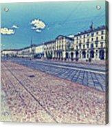 Turin, Square Vittorio. Acrylic Print