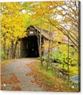 Turkey Jim's Covered Bridge Acrylic Print