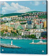 Turkey Port City Acrylic Print