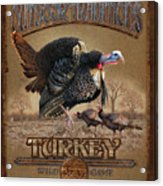 Turkey Traditions Acrylic Print by JQ Licensing