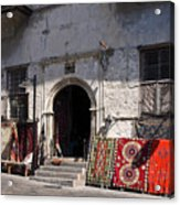 Turkish Carpet Shop Acrylic Print