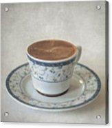 Turkish Coffee Acrylic Print by Taylan Apukovska