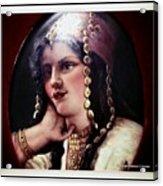 Turkish Gypsy Acrylic Print