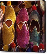 Turkish Slippers Acrylic Print