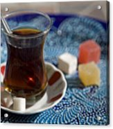 Turkish Tea Acrylic Print