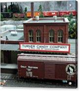 Turner Candy Co Acrylic Print