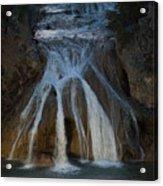 Turner Falls At Night Acrylic Print