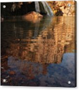Turner Falls Autumn Reflections Acrylic Print