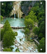 Turner Falls Grand View Two Acrylic Print