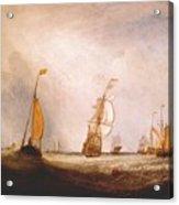 turner helvoetsluys the city of utrecht 64 going to sea 1832 Joseph Mallord William Turner Acrylic Print
