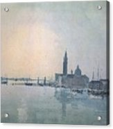 Turner Joseph Mallord William San Giorgio Maggiore In The Morning Joseph Mallord William Turner Acrylic Print