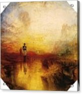 Turner Joseph Mallord William The Exile And The Snail Joseph Mallord William Turner Acrylic Print