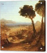 Turner Joseph The Bay Of Baiae With Apollo And The Sibyl Joseph Mallord William Turner Acrylic Print