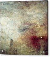 Turner: Sun Setting, C1840 Acrylic Print