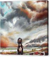 Turner's Dog Acrylic Print