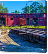 Turntable At Roundhouse Acrylic Print