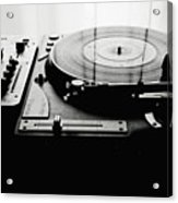 Turntable Acrylic Print by So1