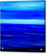 Turquoise Dawn Acrylic Print