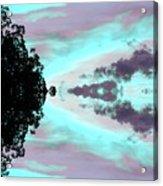 Turquoise Diamonds In The Sky Acrylic Print