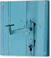 Turquoise Door 02 Acrylic Print