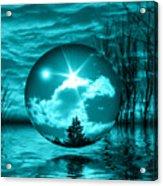 Turquoise Dreams Acrylic Print