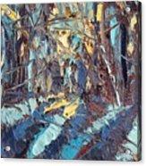 Turquoise  Acrylic Print
