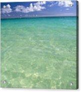 Turquoise Ocean Acrylic Print