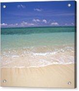 Turquoise Shoreline Acrylic Print