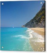 Turquoise Water Paradise Beach Acrylic Print