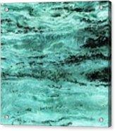 Turquoise Water Acrylic Print